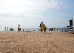 Пляж Аква в Феодосии