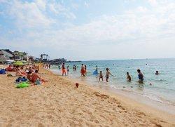 Пляж Аква отдых в Феодосии