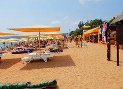 Отдых в Феодосии пляж Жемчужный