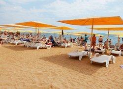 Феодосия пляж Жемчужный