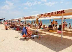 Пляж Атлантик Феодосия