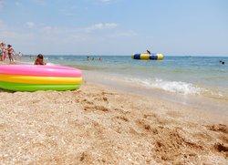 Отдых в Феодосии пляж Баунти