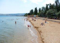 Пляж Лазурный берег Феодосия