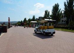 Экскурсии по Феодосии на электромобиле