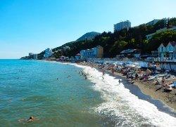 Пляжи Алушты Профессорский Уголок