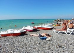 Пляж Николаевка отдых в Крыму