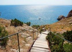 Лестница на пляж Васили Балаклава