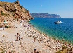Балаклава пляж Васили отдых