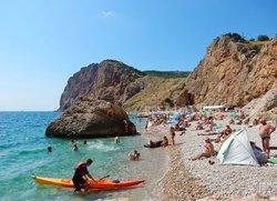 Отдых в Балаклаве на пляже Васили
