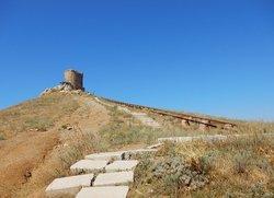 Тропа к крепости Чембало Балаклава