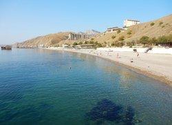 Курортное пляж