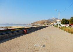 Набережная Курортное вид на пляжи