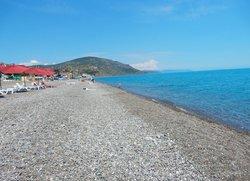 Пляж в Рыбачьем