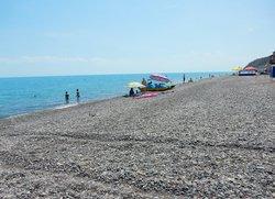 Пляж в Крыму Рыбачье