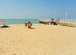 Детский домик на пляже СТ Мираж