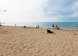 Общедоступный пляж на Симферопольской Евпатория