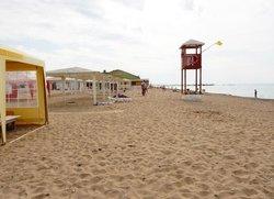 Отдых в Евпатории пляж на Симферопольской