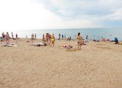 Пляж Солярис Евпатория