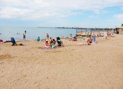 Отдых в Евпатории пляж Солярис