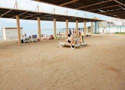 Отдых в Евпатории Крым пляж Солярис