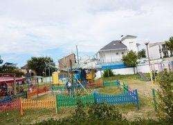 Детская площадка на пляже Солярис Евпатория Крым