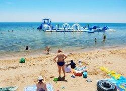 Евпатория пляж для детей