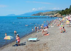 Малореченское фото пляжа