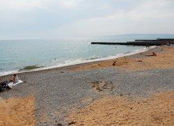Центральный пляж Приморский Феодосия