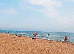 Пляж Песчанка Приморский Феодосия