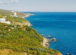 Береговое (Кастрополь) вид на курорт