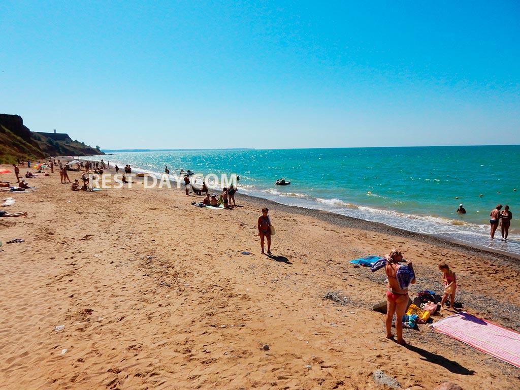 Бахчисарайский район береговое пляжи 3