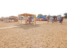 Отдых в Керчи пляж Сандали