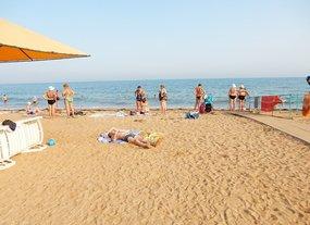 Керч пляж Сандали