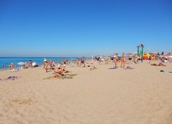 Пляжи в Саках Крым