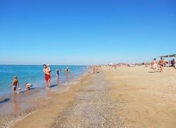 Саки пляж Крым