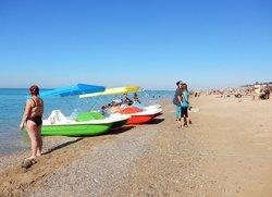 Пляжные развлечения Саки Крым
