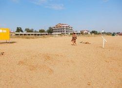 Пляж в Береговом Феодосия Керченское шоссе