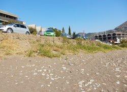 Парковка у пляжа Весёлое Крым