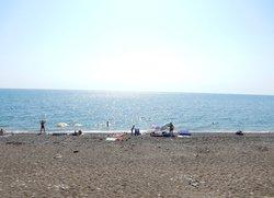 Отдых на пляже в Весёлом Крым