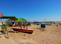 Пляж Фрунзе (Саки) отдых в Крыму