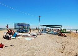 село Фрунзе пляж