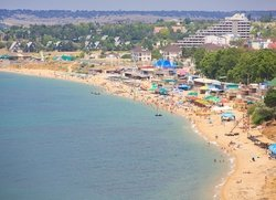 Пляж в Севастополе квартал Учкуевка