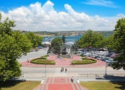 Севастополь вид на площадь Нахимова