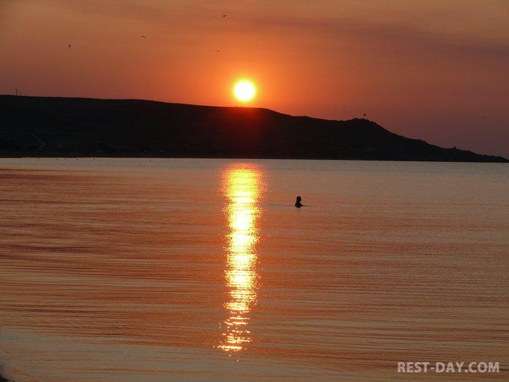Азовское море в Керчи