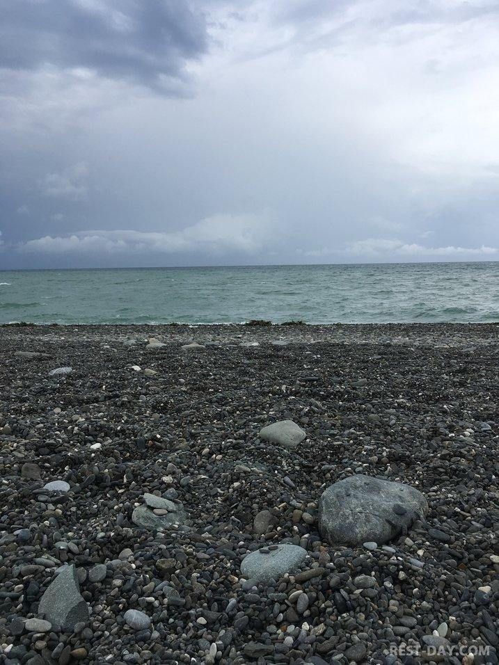 пляж Массандра в Ялте