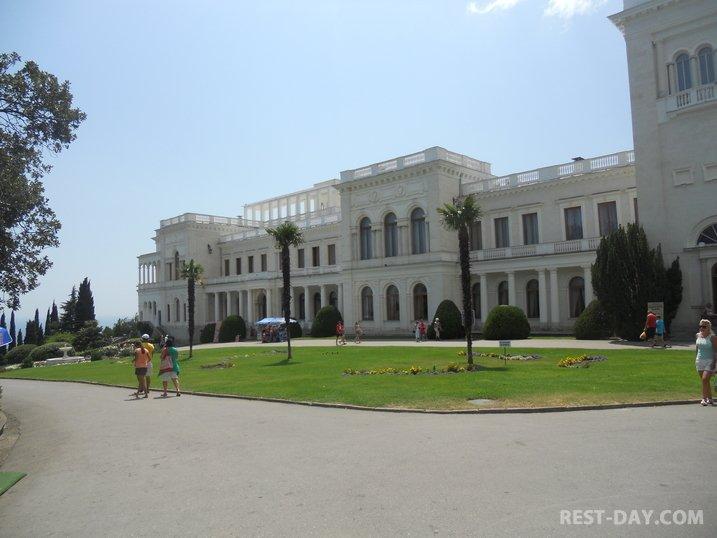 Ливадийский дворец, Ливадия