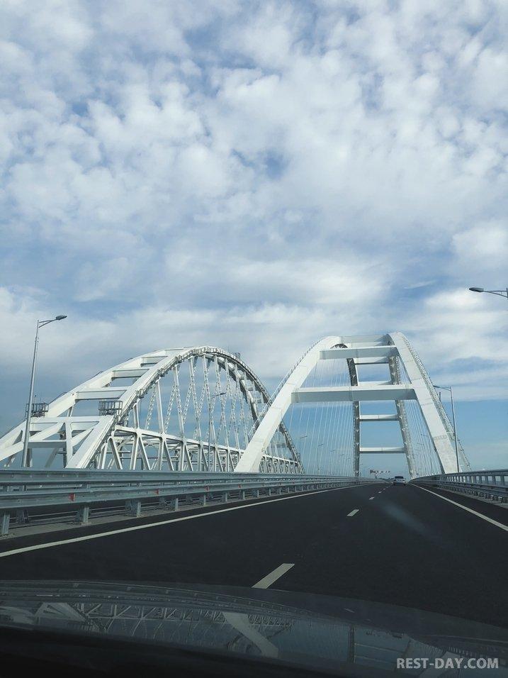 Арка Крымского моста