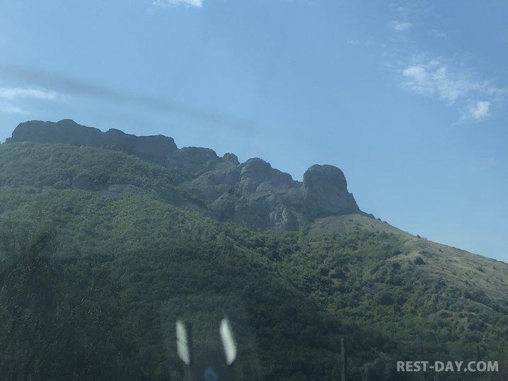 По дороге в Алушту