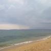 Песчано-ракушечный пляж. Береговое