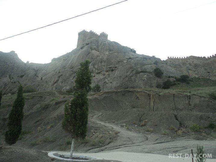 Гэнуэзская крепость в Судаке